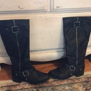 Rampage Black High Riding Boots!